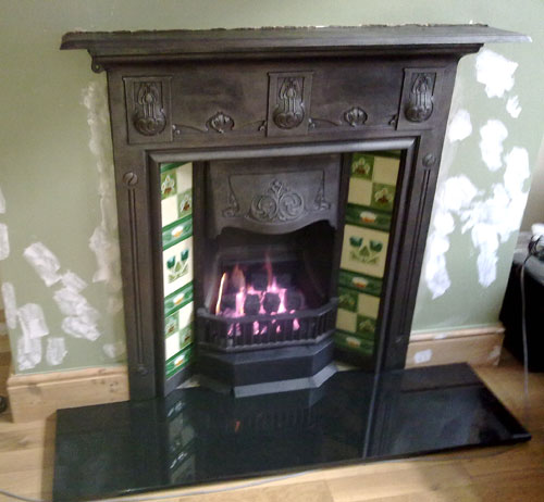 Cwmbran Fireplace Installation