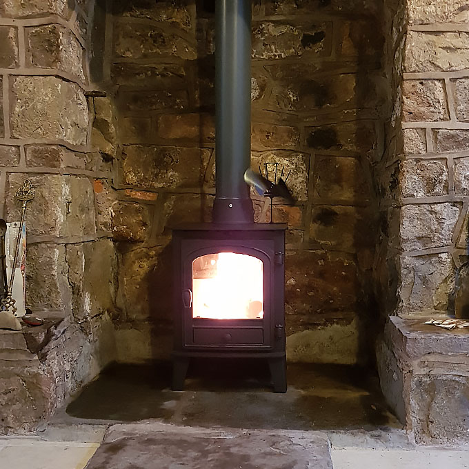 Traditional Stove Installation