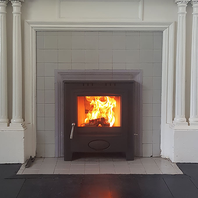 Inset Stove Installation