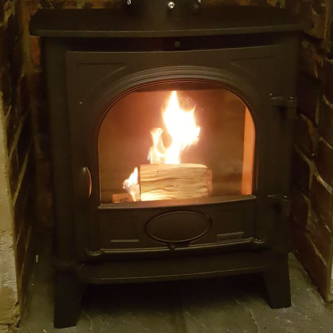 Stockton 5 Stove Installation
