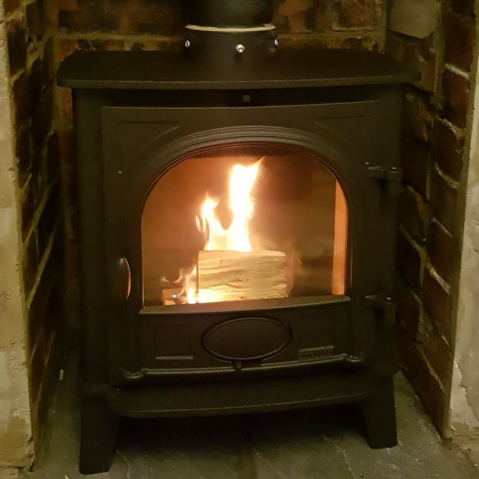 Stockton 5 Wood Stove Installation