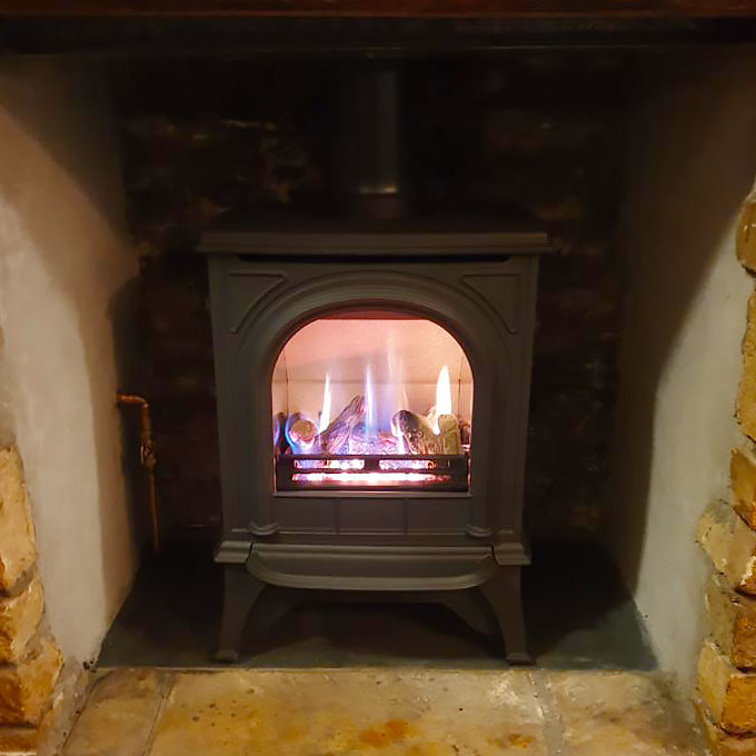 Huntingdon 20 Stove Installation